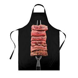 Фартук кулинарный Степени прожарки 1 цвета 3D — фото 1
