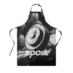 Фартук кулинарный Iron Sport цвета 3D — фото 1