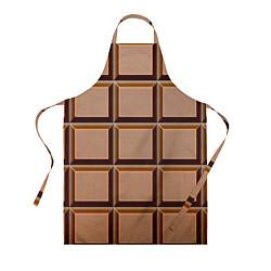 Фартук кулинарный Шоколад цвета 3D — фото 1