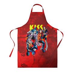 Фартук кулинарный KISS: Hot Blood цвета 3D — фото 1