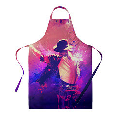 Фартук кулинарный Michael Jackson: Moon цвета 3D — фото 1