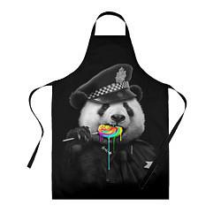 Фартук кулинарный Панда с карамелью цвета 3D — фото 1