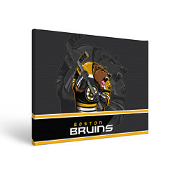 Холст прямоугольный Boston Bruins цвета 3D-принт — фото 1