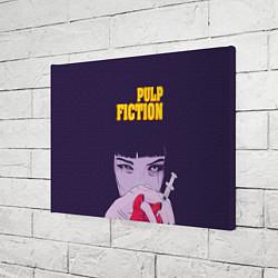 Холст прямоугольный Pulp Fiction: Dope Heart цвета 3D-принт — фото 2