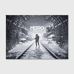 Холст прямоугольный Metro Exodus цвета 3D-принт — фото 2