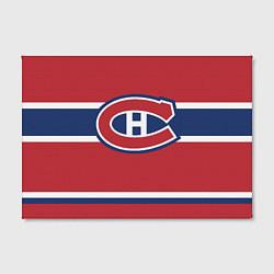 Холст прямоугольный Montreal Canadiens цвета 3D-принт — фото 2