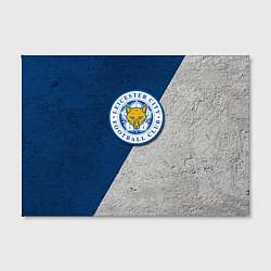 Холст прямоугольный Leicester City FC цвета 3D-принт — фото 2