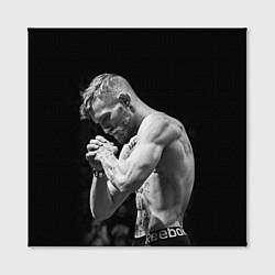 Холст квадратный Conor McGregor: Mono цвета 3D — фото 2