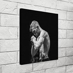 Холст квадратный Conor McGregor: Mono цвета 3D-принт — фото 2