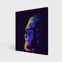 Холст квадратный McGregor Neon цвета 3D-принт — фото 1