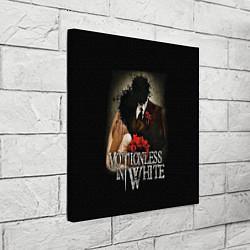 Холст квадратный Motionless in White: Love цвета 3D-принт — фото 2