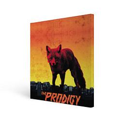 Холст квадратный The Prodigy: Red Fox цвета 3D-принт — фото 1