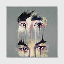 Холст квадратный EXO Eyes цвета 3D — фото 2
