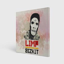 Холст квадратный Limp Bizkit цвета 3D-принт — фото 1