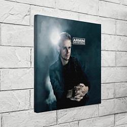 Холст квадратный Armin Van Buuren цвета 3D-принт — фото 2