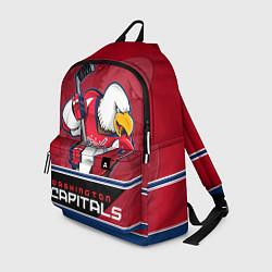 Рюкзак Washington Capitals цвета 3D-принт — фото 1