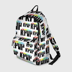 Рюкзак K-pop Pattern цвета 3D-принт — фото 1