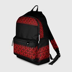 Рюкзак Славянский орнамент (на чёрном) цвета 3D — фото 1