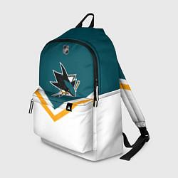 Рюкзак NHL: San Jose Sharks цвета 3D-принт — фото 1