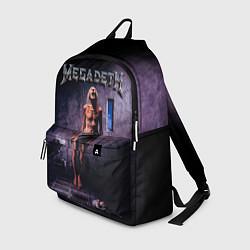 Рюкзак Megadeth: Madness цвета 3D-принт — фото 1