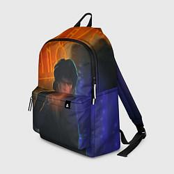Рюкзак Виктор Цой в ночи цвета 3D-принт — фото 1