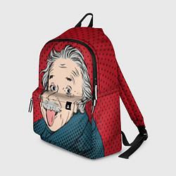 Рюкзак Альберт Эйнштейн: Поп-арт цвета 3D — фото 1