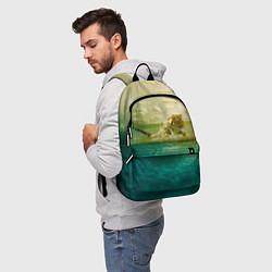 Рюкзак Тигр, жизнь ПИ цвета 3D-принт — фото 2