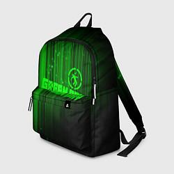 Рюкзак Green Day лучи цвета 3D-принт — фото 1