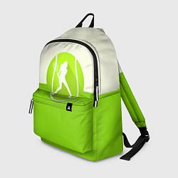 Рюкзак Символ теннисиста цвета 3D-принт — фото 1