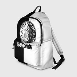 Рюкзак Ramones B&W цвета 3D-принт — фото 1