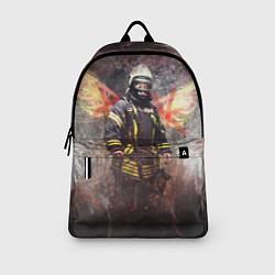 Рюкзак Пожарный ангел цвета 3D — фото 2