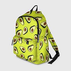 Рюкзак Стиль авокадо цвета 3D — фото 1