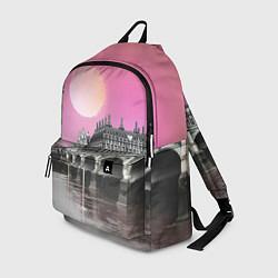 Рюкзак Закат в Великобритании цвета 3D — фото 1