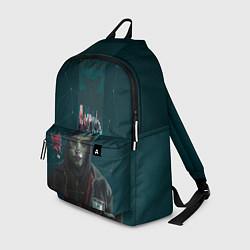 Рюкзак Mr. Robot цвета 3D — фото 1