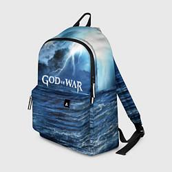 Рюкзак God of War: Sea rage цвета 3D-принт — фото 1
