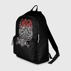 Рюкзак Slayer: Hell Goat цвета 3D-принт — фото 1
