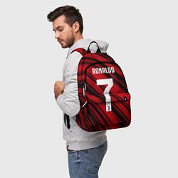 Рюкзак Ronaldo 7: Red Sport цвета 3D — фото 2