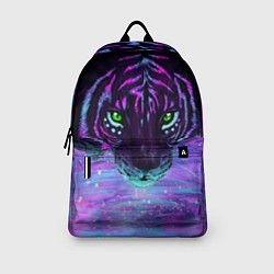 Рюкзак Неоновый тигр цвета 3D-принт — фото 2