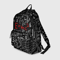 Рюкзак Формулы физики цвета 3D-принт — фото 1