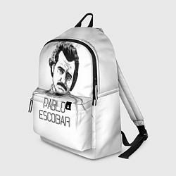 Рюкзак Pablo Escobar цвета 3D-принт — фото 1