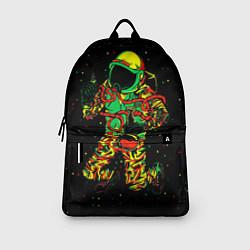 Рюкзак Космонавт с кальяном цвета 3D-принт — фото 2