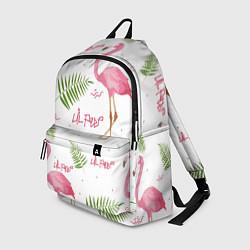 Рюкзак Lil Peep: Pink Flamingo цвета 3D — фото 1