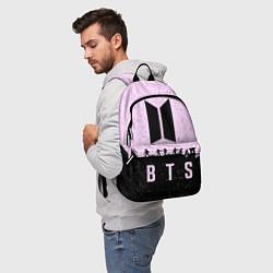 Рюкзак BTS Boys цвета 3D-принт — фото 2