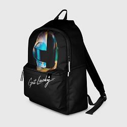 Рюкзак Daft Punk: Get Lucky цвета 3D-принт — фото 1