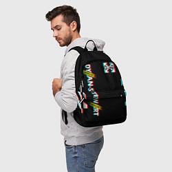 Городской рюкзак с принтом Off-White: Black Glitch, цвет: 3D, артикул: 10172699305601 — фото 2
