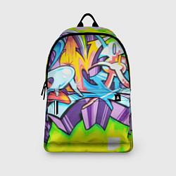 Рюкзак Неоновая кислота цвета 3D-принт — фото 2