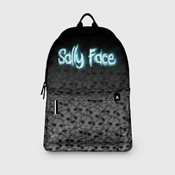 Рюкзак Sally Face: Skulls цвета 3D-принт — фото 2