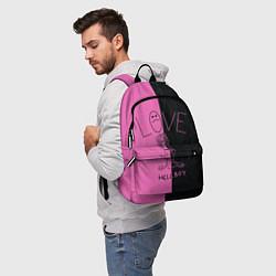 Рюкзак Lil Peep: Hell Boy цвета 3D — фото 2