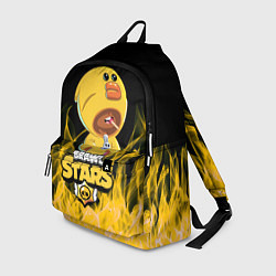 Рюкзак BRAWL STARS SALLY LEON цвета 3D — фото 1
