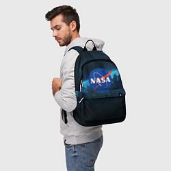 Рюкзак NASA цвета 3D-принт — фото 2